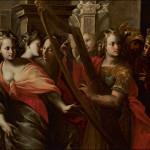Michol aiuta David a fuggire dal palazzo di Saul