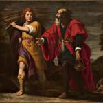 Abramo ed Isacco si avviano al sacrificio