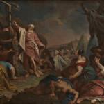 Mosè e il serpente di bronzo