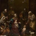 Sacra Famiglia con i Santi Giovannino, Elisabetta, Zaccaria, Anna e Gioacchino