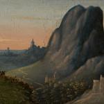 Paesaggio con San Girolamo penitente