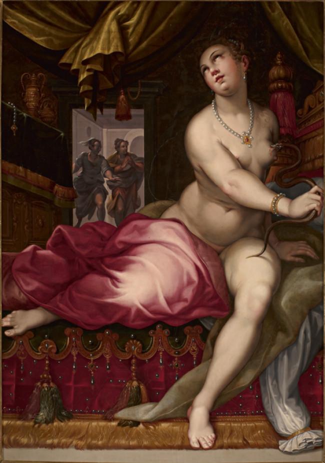 Suicidio di Cleopatra